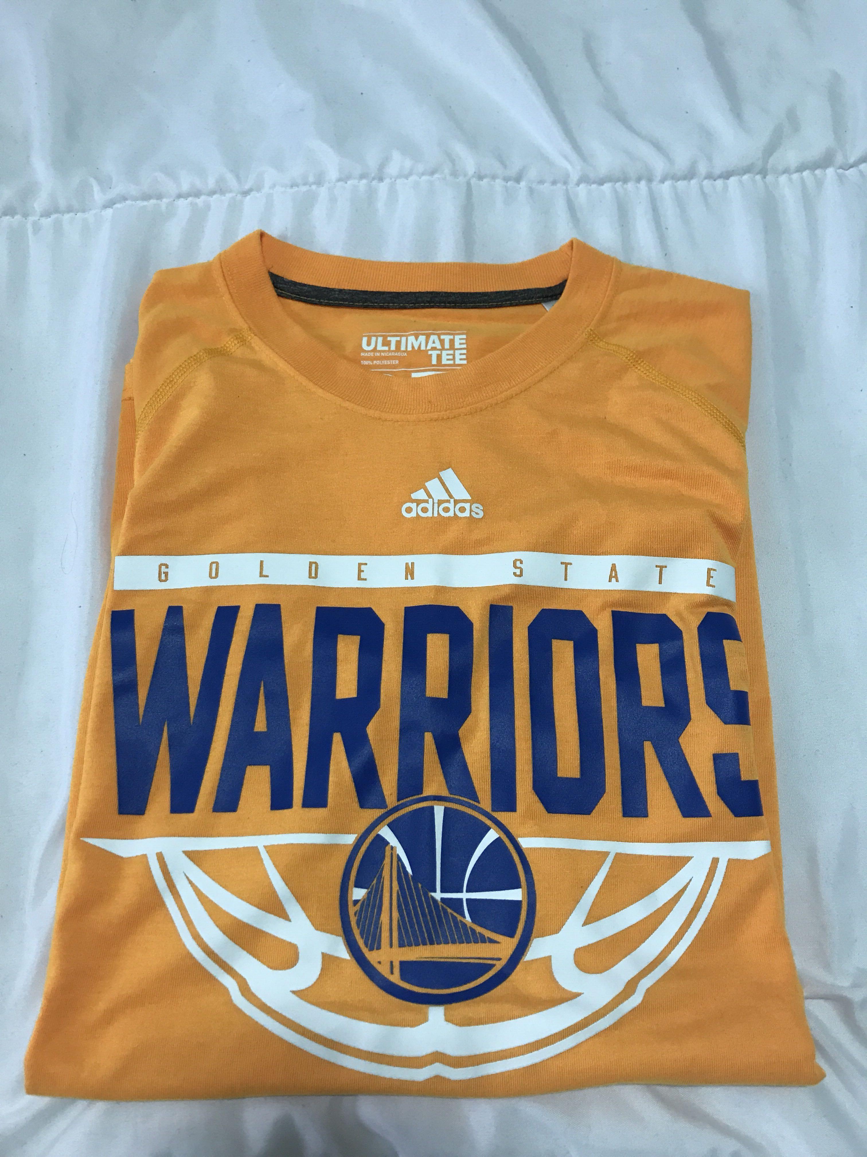 72456d6c93bfb6 Exclusive NBA FINAL CHAMPION Golden State Warriors Adidas Apparel ...
