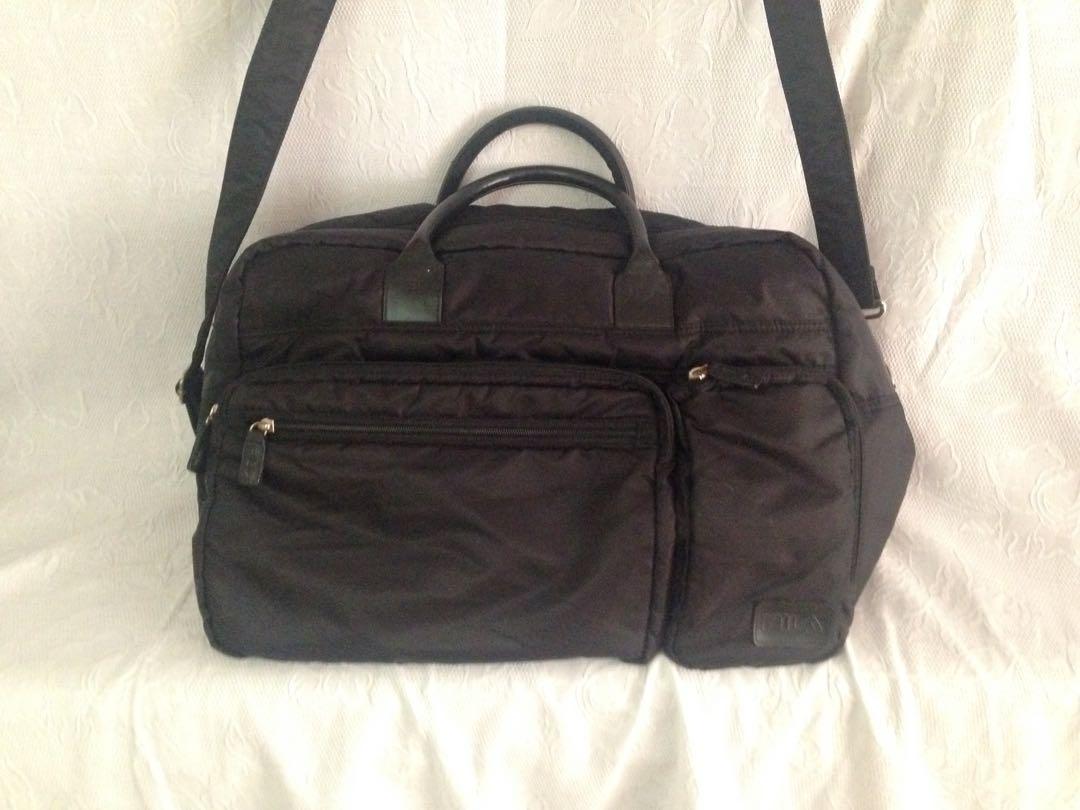 6d870e451c3 FILA gym travel bag authentic, Travel, Travel Essentials, Luggage on ...