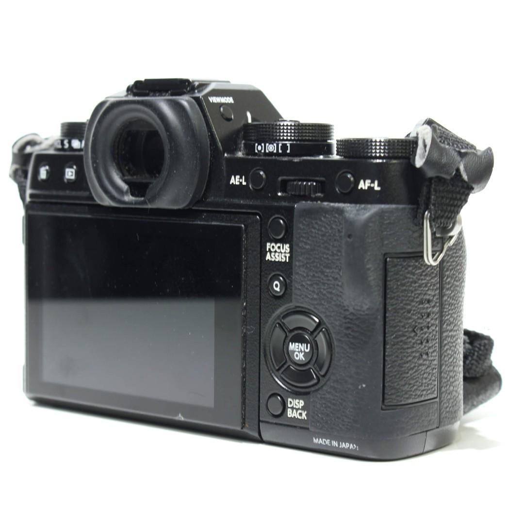 Fujifilm X T1 Mirrorless Digital Camera Body Only Black Kamera Di T100 Xf35mm F2 Carousell