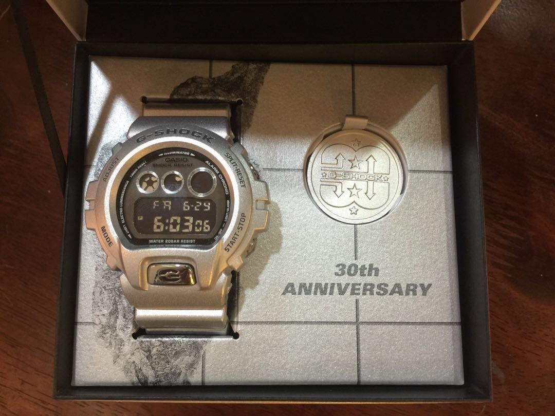 e8d3f49563cc Gshock Dw6930bs-8 30th Anniversary