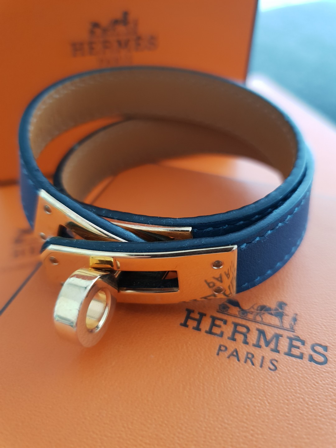 Hermes Kelly double tour Bracelet, Luxury, Accessories, Others on Carousell 815719703ae