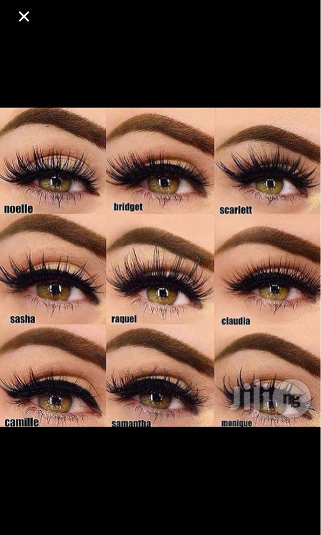 17ea7d8f89e Huda Beauty 3D Mink False Lashes,, Health & Beauty, Makeup on Carousell