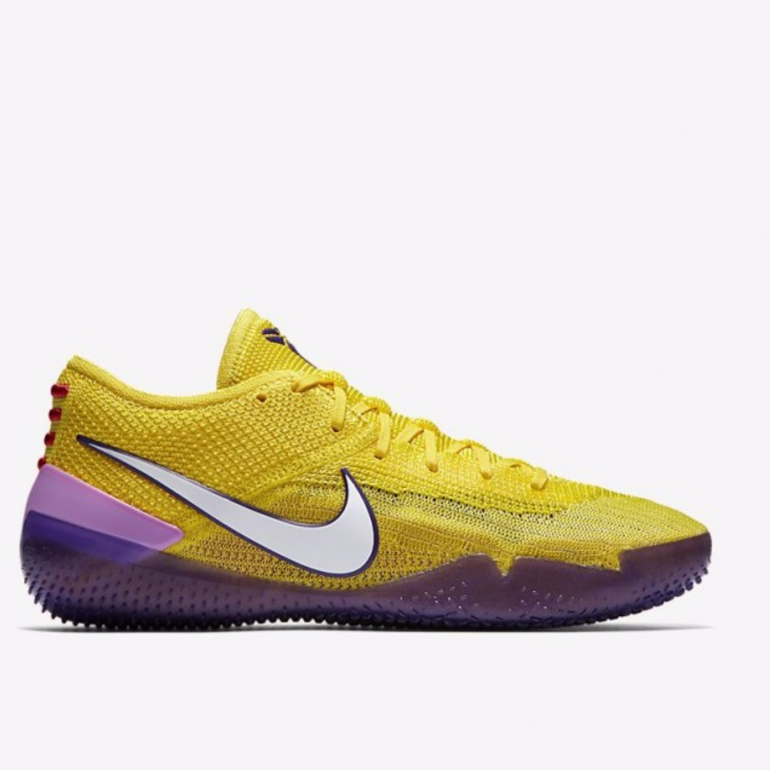 cheap for discount 466f2 2d3cd Kobe A.D. NXT 360 Lakers