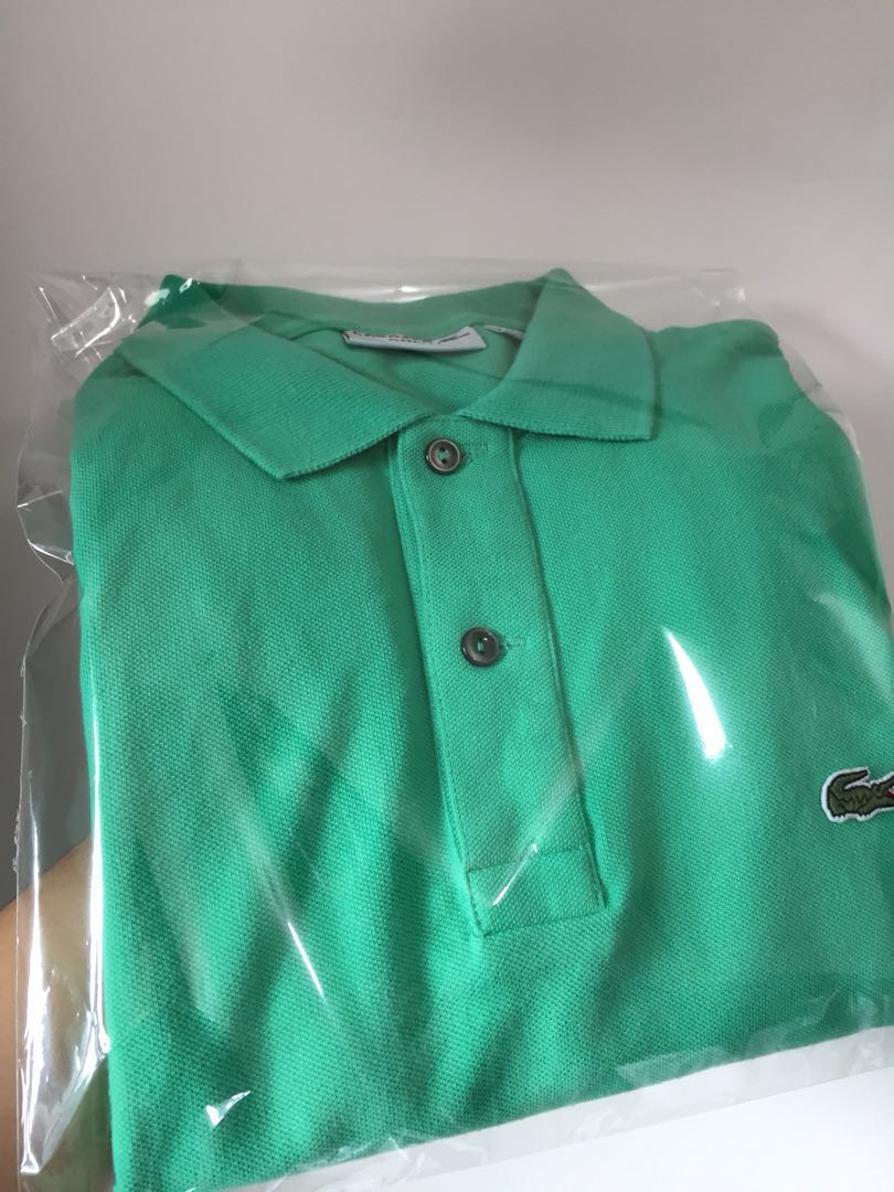 99c0bc3a0 LaCoste Polo Green Mint