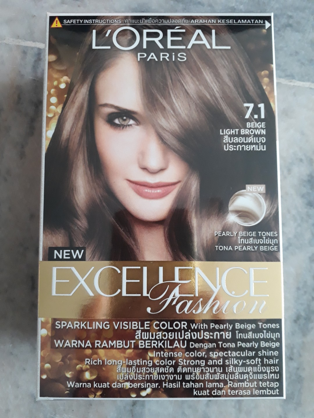 Loreal Light Beige Hair Colour Health Beauty Hair Care On Carousell