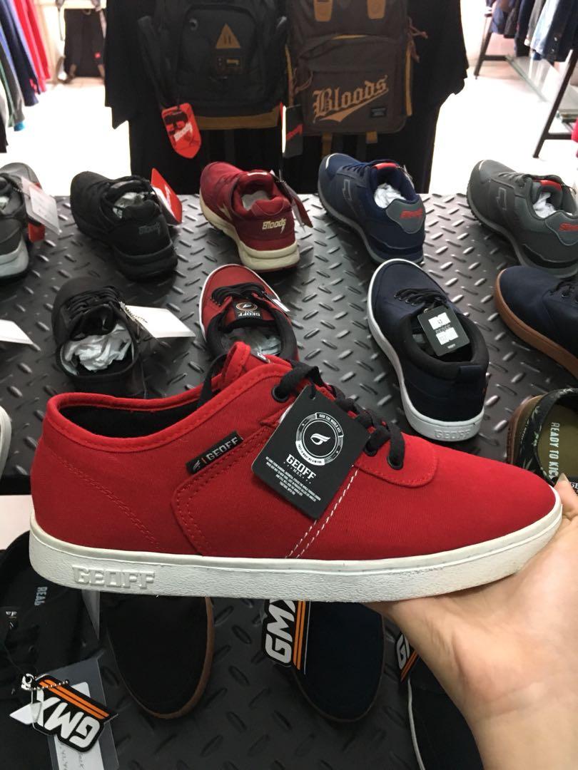 0f645fd66f494 NEW) geoff max shoes / maven red, Men's Fashion, Men's Footwear on ...