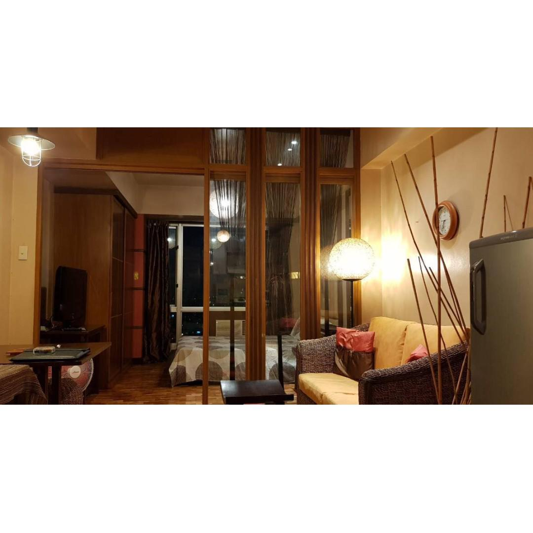 oriental garden in makati for sale 1bedroom fully furnished