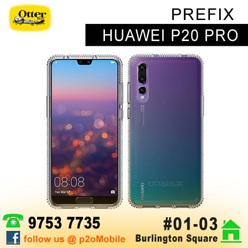 new styles 8ab66 cf484 Otterbox Prefix for Huawei P20 Pro