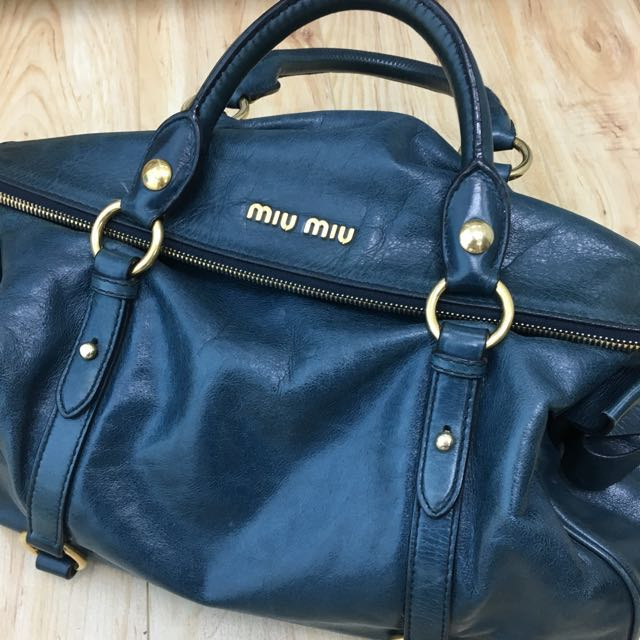 362eeb4fea41 Preloved Authentic Miu Miu Bow Bag