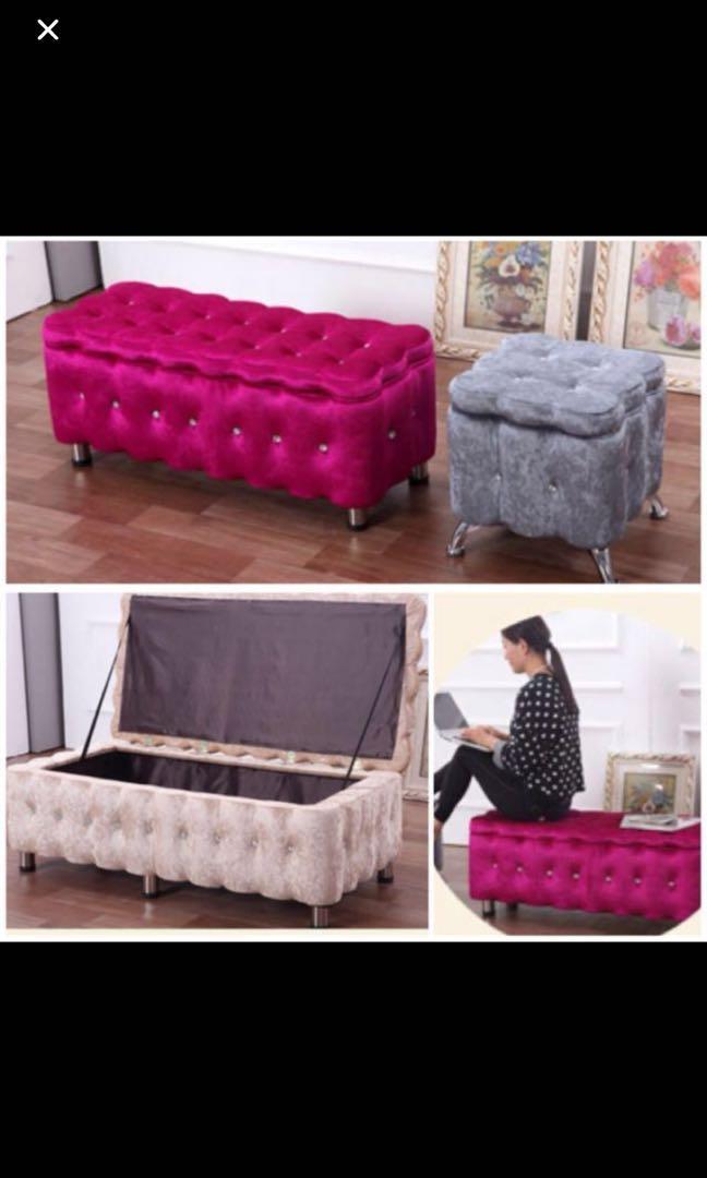 Preorder Storage Bench Chair