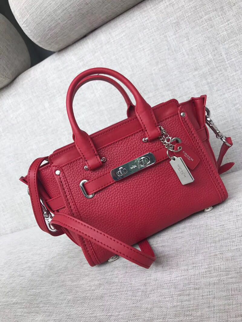 5370f474d SALE coach swagger 20 women's bag, Women's Fashion, Bags & Wallets ...