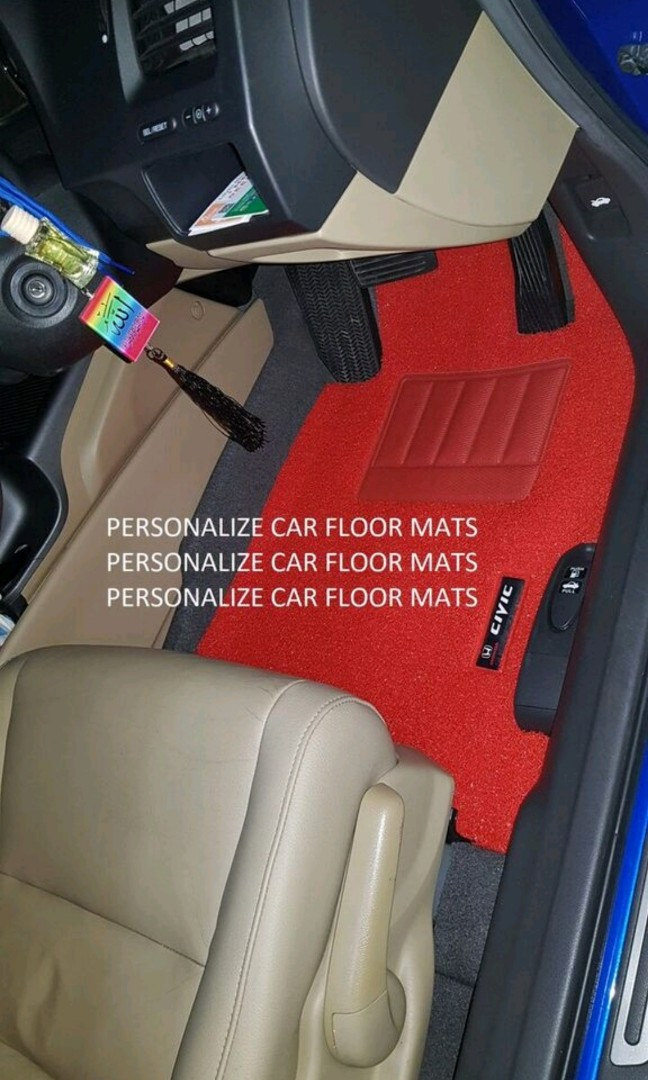Type R Honda Civic Fd 2 Fd2 Car Mats Carmats Car Carpets