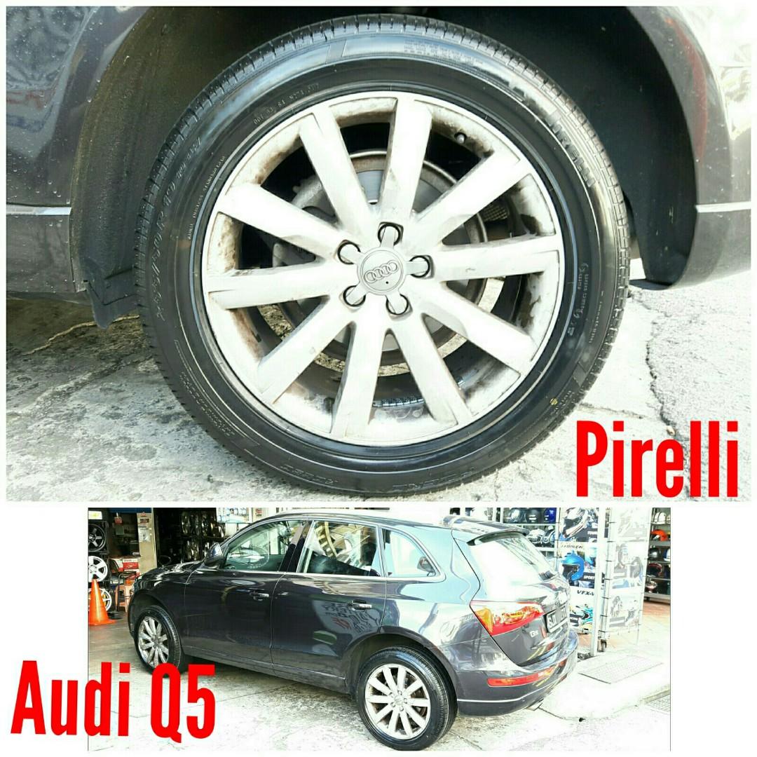 Tyre Pirelli On Audi Q The Price Shown Is Estimated Car - Audi price