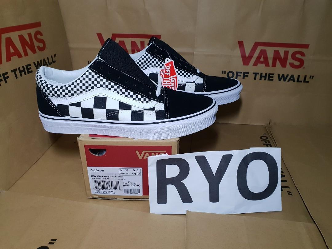 Vans Old Skool Mix Checker Checkerboard oldskool not slip on 9875612971
