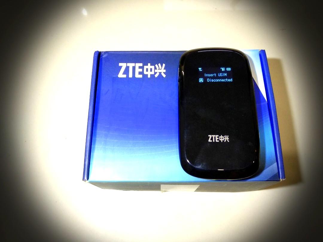 ZTE MF60 HSPA+ Portable WiFi Hotspot 8 Users