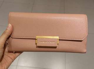 DOMPET CHARLES&KEITH PINK