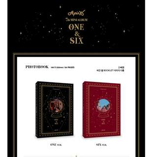 [PREORDER] APINK (에이핑크) - ONE & SIX (7TH Mini Album)