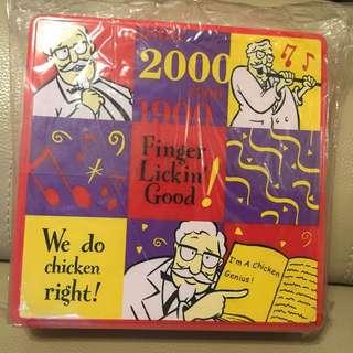 🎉全新絕版KFC 儲物盒2000年