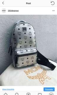 Designer Sling Bag [Silver]
