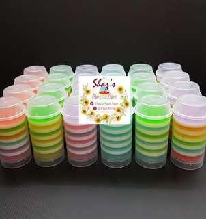 Agar Agar Jelly Pushpop (12 pieces per set) please pm for pricing