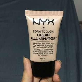 NYX born to glorw liquid illuminator highlighter 18ml