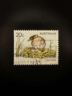 Australia Postage Stamp - Little Grebe Bird