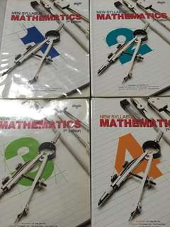 New Syllabus Mathematics 7th Edition (Sec 1/2/3/4)