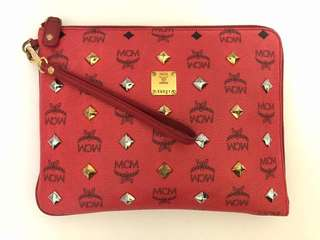 Authentic MCM Clutch Limited Edition