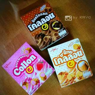 Thai Glico Collon Biscuit 3 box