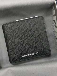 Authentic Alexander Mcqueen Men's Wallet