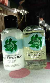 Fuji Green Tea gift pack 60ml ex kado (tanpa loofah)