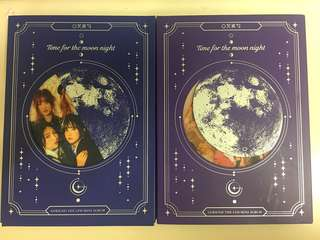 Gfriend Time for the moon night 淨專,除小咭全齊