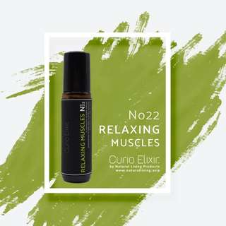 No22 Relaxing Muscles by Curio Elixir