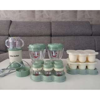 Baby Bullet Blender Set (Extra Accesories)