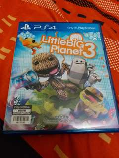 ps4 game Little Big planet3