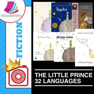 The Little Prince Collection in 32 languages