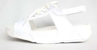 Canvas White Fitflop Sandal