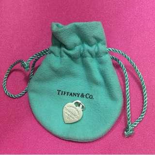 Tiffany & Co. 鏈咀 頸鏈 純銀 100%real