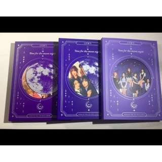 ONHAND SEALED GFRIEND - TIME FOR THE MOON NIGHT ALBUM