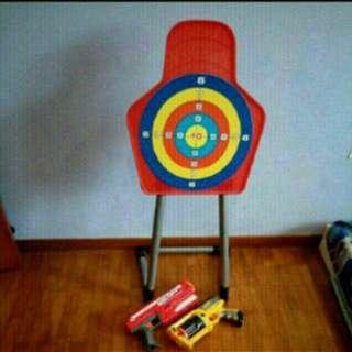 Nerf Guns and Shooting range