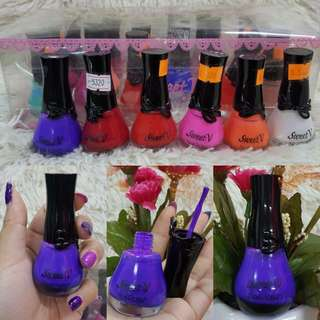 24PCS - NAIL POLISH SWEET V