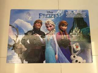 FROZEN Giant Floor Puzzle (24pc)