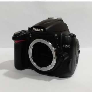 Nikon Digital Camera D5000 Body