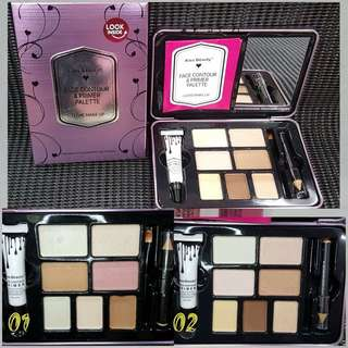 KISS BEAUTY FACE CONTOUR & PRIMER PALLET