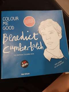 Benedict cumberbatch colouring book