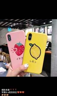 iPhone Case 士多啤梨🍓、檸檬🍋