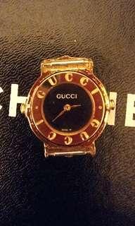 中古款Gucci鍍金錶玉(不議價)