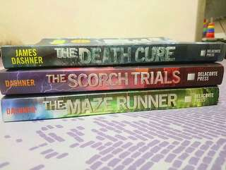The Maze Runner Series bundle