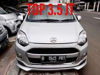 Daihatsu Ayla X-AT 2015 Tdp 3.5 jt
