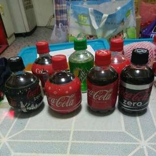 Coca Cola 可口可樂 - 日本 韓國 膠樽7枝